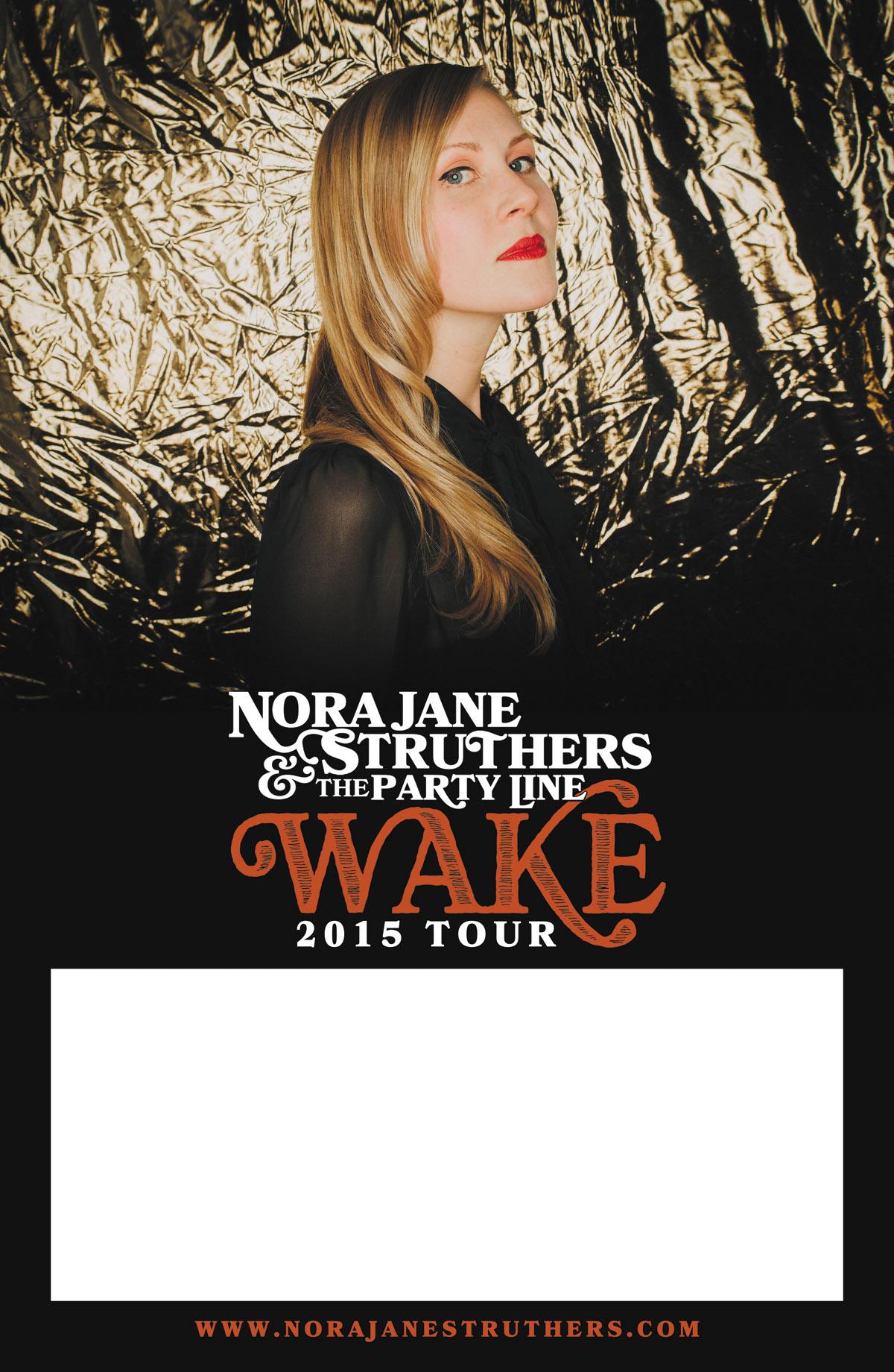Wake tour poster