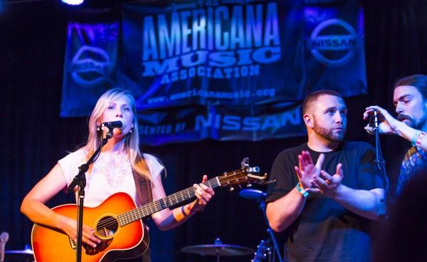 Nora Jane, Drew & Joe at the Americana Music Festival -- September 22, 2013