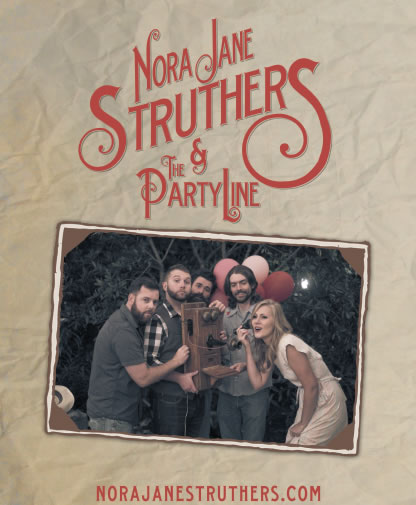 Nora Jane Struthers & The Party Line Poster